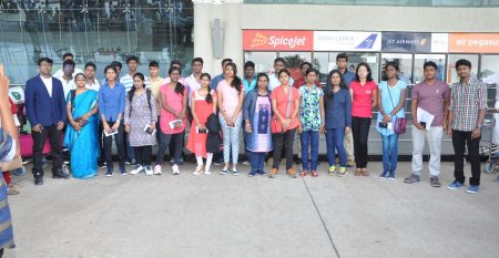 Airport departure for MBBS in china from madurai IXM